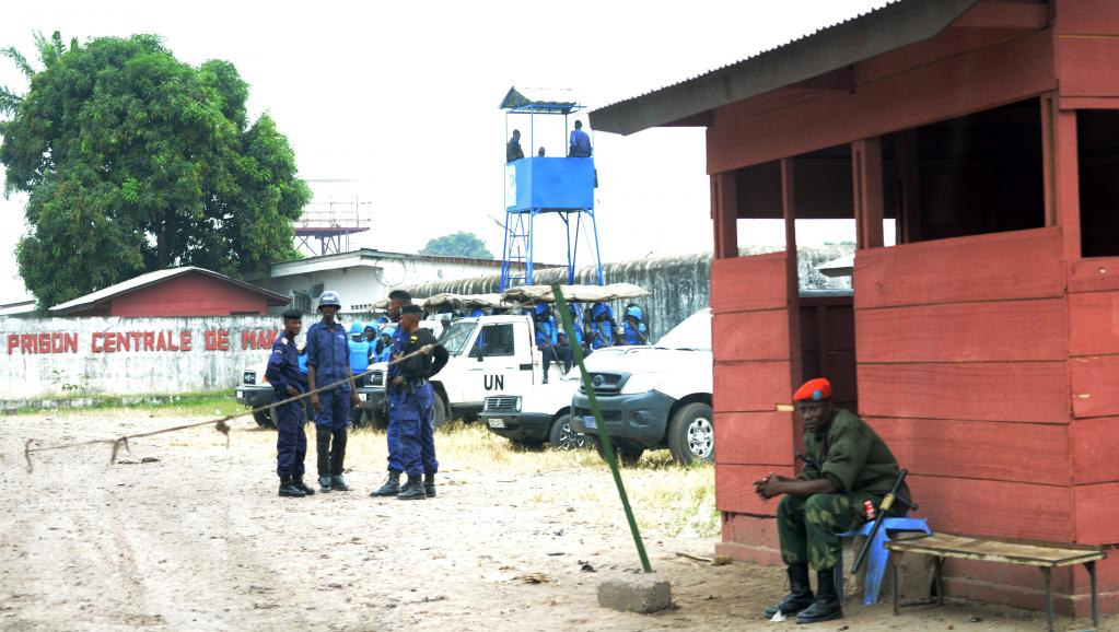 La prison de Makala, en République démocratique du Congo, à Kinshasa (photo d'archives). © AFP PHOTO / JUNIOR D. KANNAH