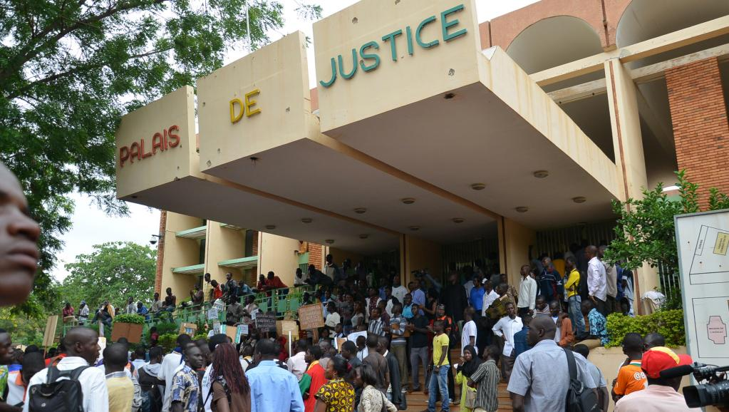 Palais de justice de Ouagadougou, au Burkina Faso (photo d'archives). © AFP PHOTO / AHMED OUOBA