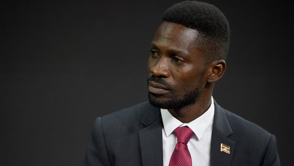Le chanteur et député d'opposition Bobi Wine le 20 septembre 2017 à New York. © Jamie McCarthy / GETTY IMAGES NORTH AMERICA / AFP