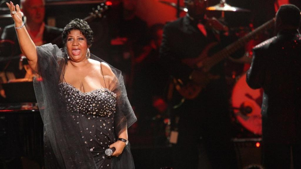 Aretha Franklin à New York lors du «Mandela Day», le 18 juillet 2009. © Michael Loccisano / GETTY IMAGES NORTH AMERICA / AFP