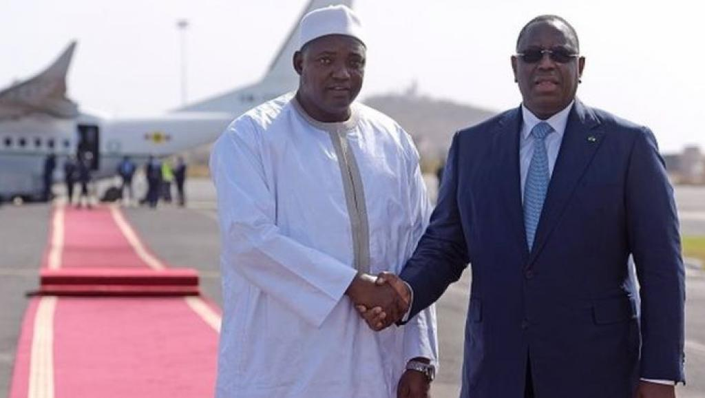 Le président gambien Adama Barrow et son homologue sénégalais Macky Sall (photo d'archives). © © Getty Images