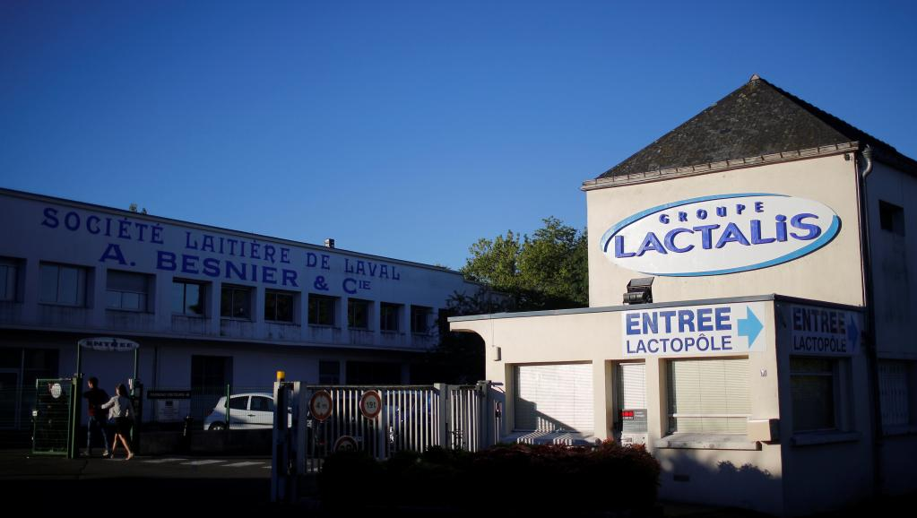 Une usine Lactalis en France (photo d'illustration). © REUTERS/Stephane Mahe