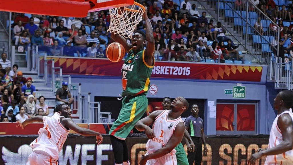 Le Malien Boubacar Sidibé. Courtesy of Fiba Africa