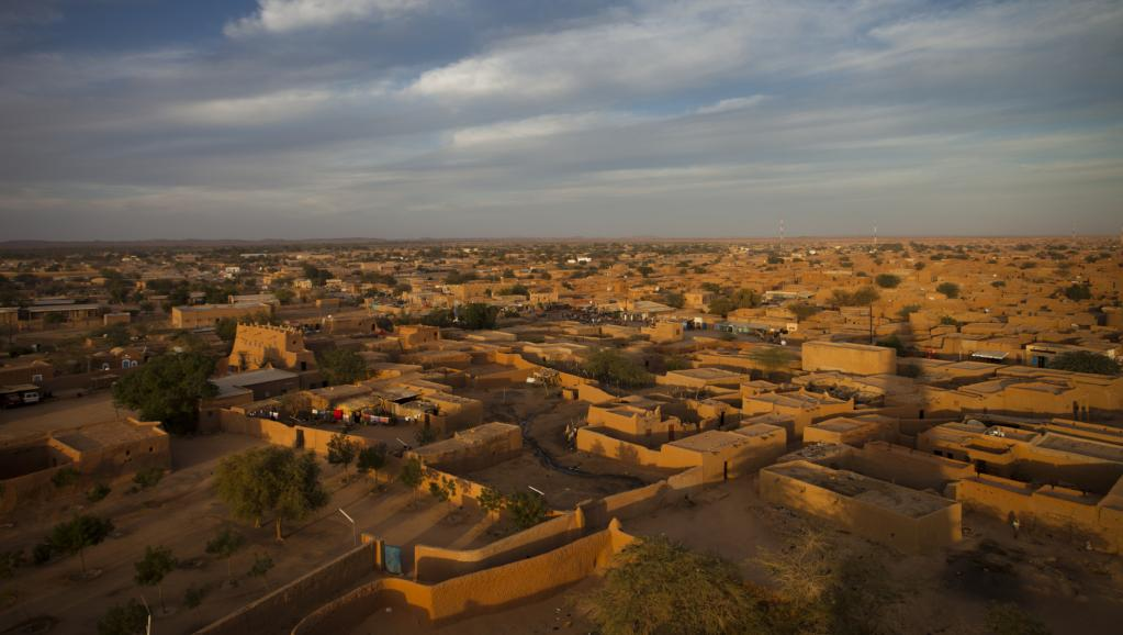Vue sur la ville d'Agadez. © Getty Images/Lonely Planet Images/Aldo Pavan