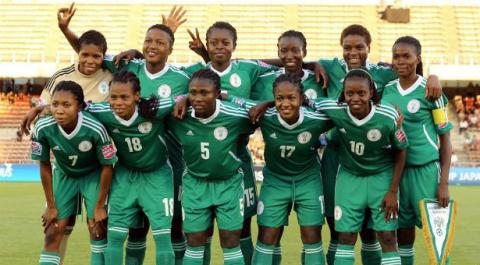 Les Super eagles Women-Flamingoes (Ph d'archives).